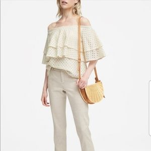 Banana Republic off the shoulder top